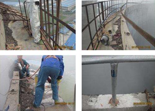 烟囱护栏网更换