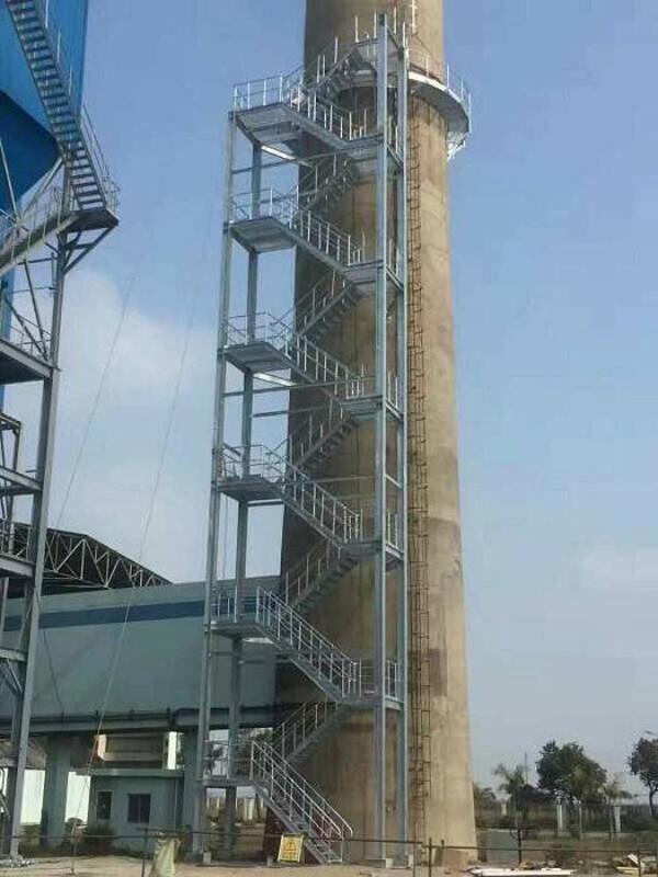 烟囱安装折梯